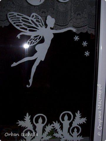 Elemente de decor de Anul Nou cu ferăstrău Decoratiuni de Craciun Photo Paper 3