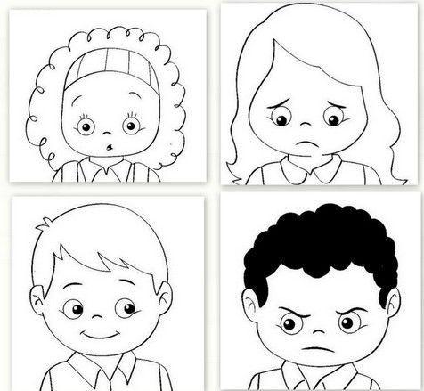Duygularımız Boyama 2 Sağlık School Art For Kids Ve Drawing