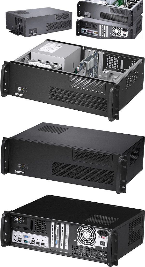 Rackmount Cases And Chassis 64061 3u D11 8 Deep Spi 400w Psu Wall Rack Mount Chassis Atx Itx Case New Buy It Now Only 132 95 Atx Wall Racks Case