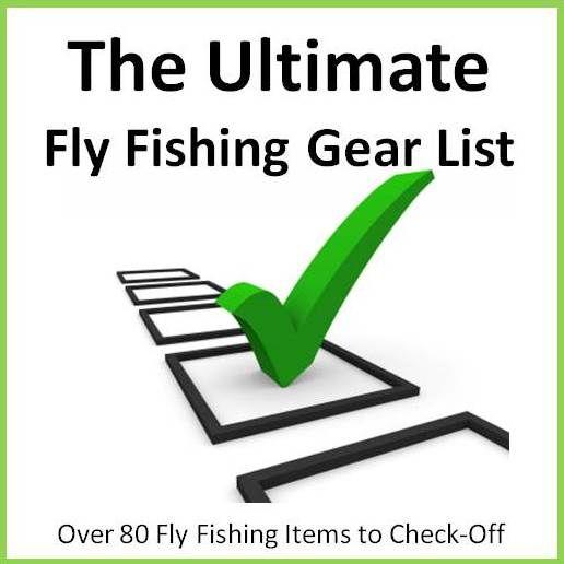 Fly Fishing List