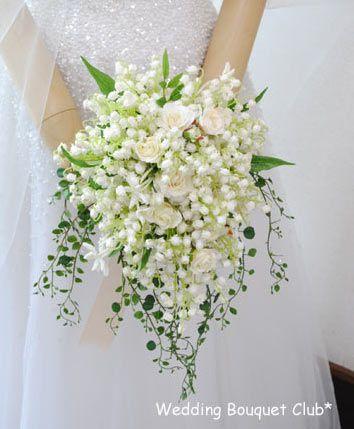 【すずらんのブーケ】イギリス王室!キャサリン妃のスズランブーケ【Wedding Bouquet Club】