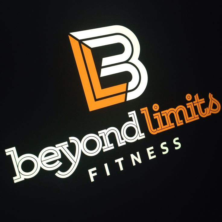 Brand logo designed for a local fitness and personal training instructor. #browncreative #browncreativelogos #beyondlimits