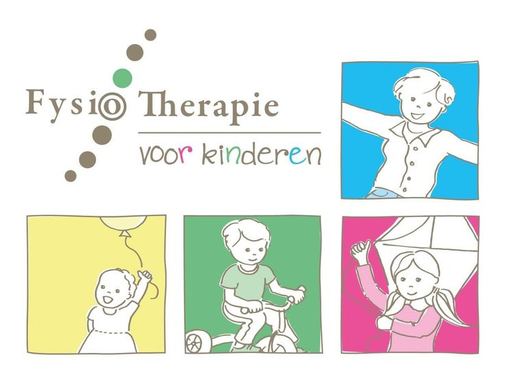 #logo #design #kids #kinderen #fysiotherapie #physiotherapy #colorful