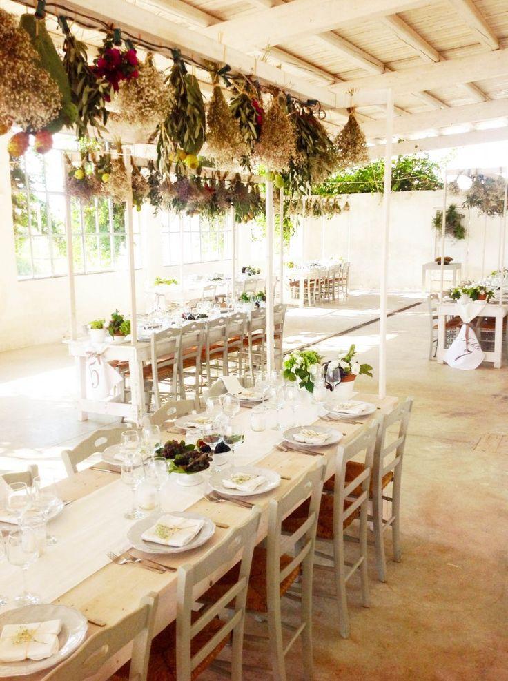 Masseria Potenti: tavoli e decori © Chiara Tommasino