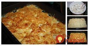 Skvelý obed, ktorý vyčarujte len zo 4 ingrediencií. Áno, čítate dobre, toto jedlo nevyžaduje žiadnu náročnú prípravu anapriek tomu vás prekvapí vynikajúcou a lahodnou chuťou. Potrebujeme: 1 kg zemiakov 250 g kyslej smotany Korenie na pečené zemiaky (príp. iné korenie podľa chuti) 250 g strúhaného syra Postup: Zemiaky umyjeme, očistíme anakrájame na plátky. Kyslú smotanu...