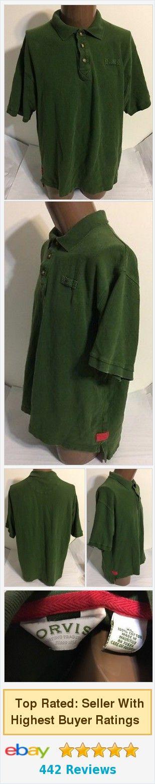 #Orvis Heavy Cotton Green Polo Shirt Size XL | eBay http://www.ebay.com/itm/Orvis-Heavy-Cotton-Green-Polo-Shirt-Size-XL-/371968469440