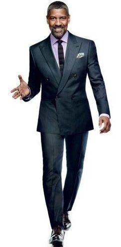 Denzel Washington GQ~ he is just gorgeous!