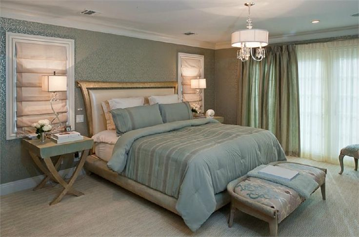 Relaxing Transitional Bedroom by Diane Guariglia on HomePortfolio