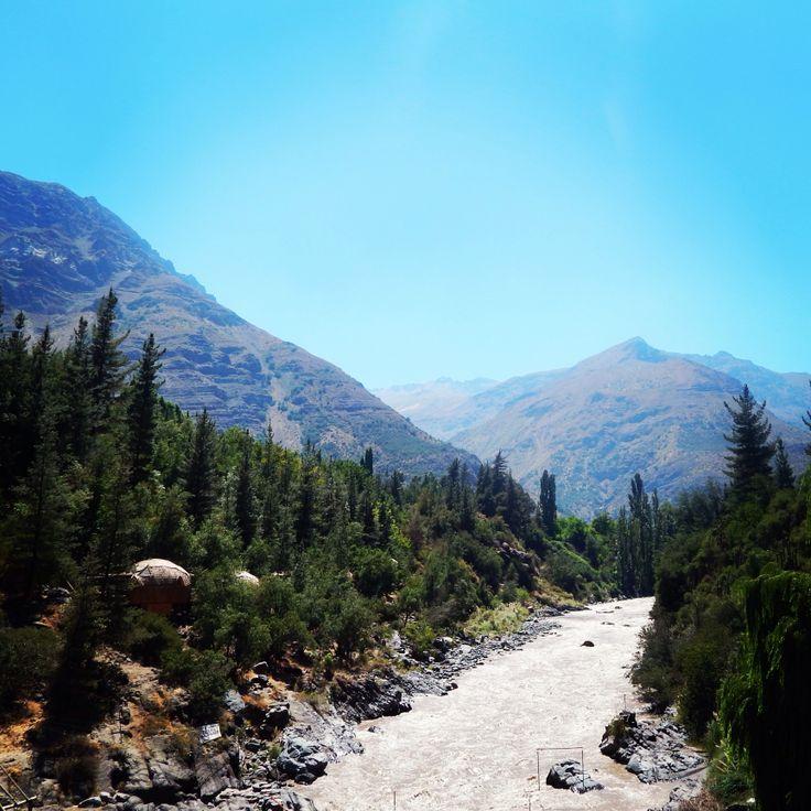 Cajon del Maipo, Chile