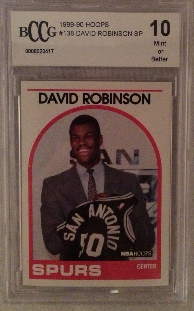 1989-90 Hoops #138 David Robinson SP