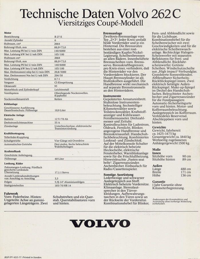 Volvo 262c - 6
