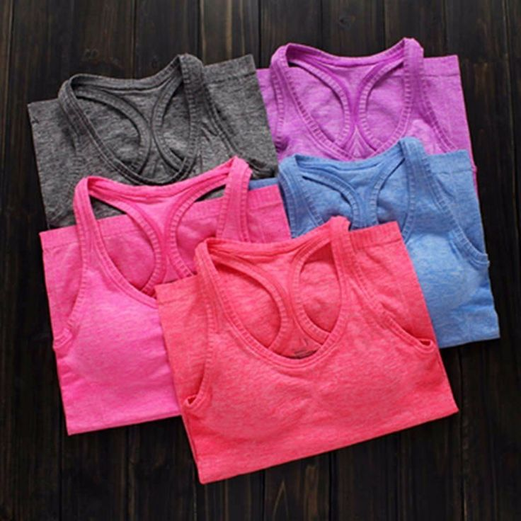 Yoga Tank Tops With Bra Pads – Asanas Outfitters