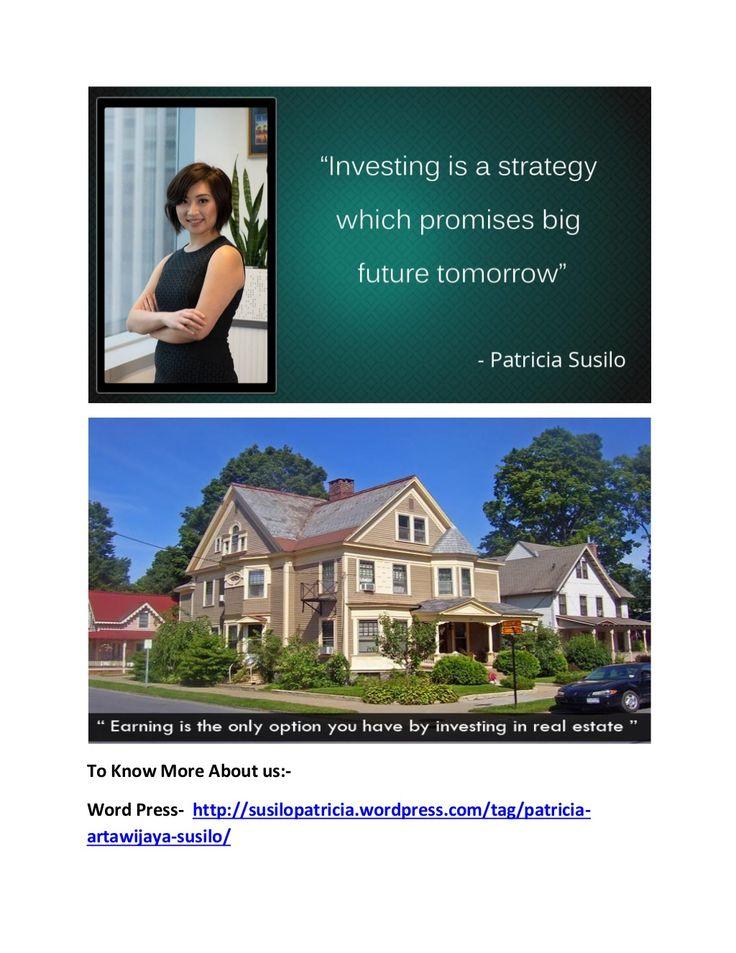 Patricia artawijaya susilo   property investor in australia by Bryan Susilo via slideshare