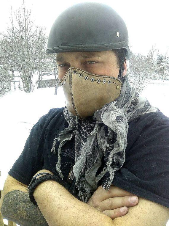 Realizado en orden motocicleta máscara por OblivionLeatherCraft