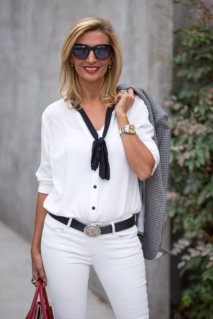 LAST CHANCE to get 15% off our Tuxedo blouse featured on my blog today with code FS111 plus Free US Shipping www.jacketsociety.com