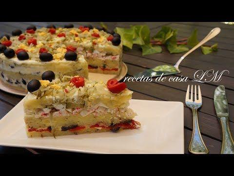 Pastel de atún frío con pan de molde. ¡Muy fácil y SIN COCINAR! - YouTube