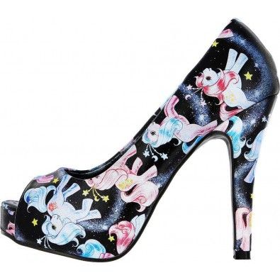 Chaussures Escarpins Pin-Up Lolita My Little Pony Celestial Mon Petit Poney