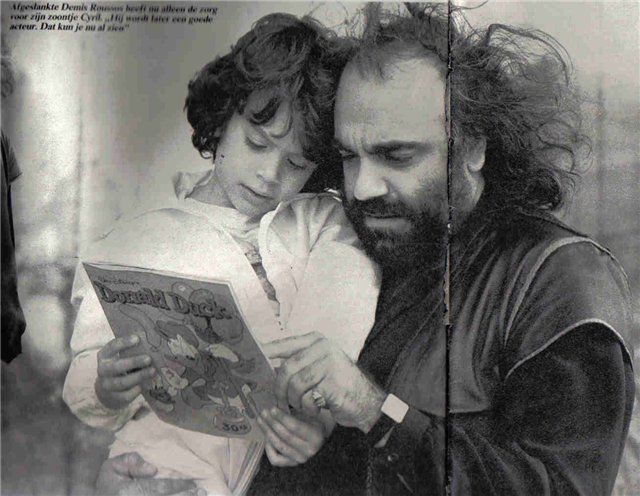 "Demis Roussos and CYRIL ""Donald Duck Fans"""