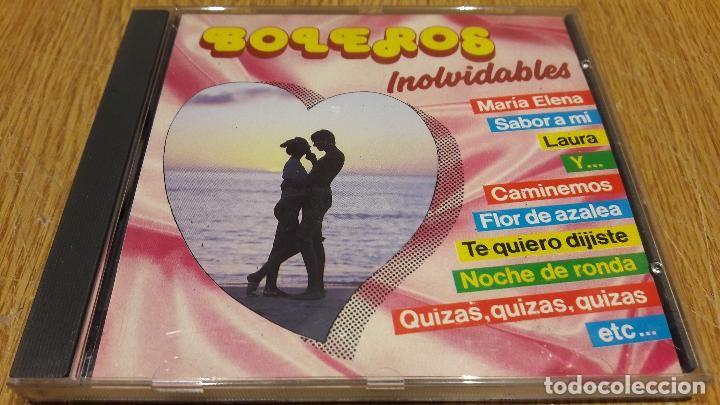 BOLEROS INOLVIDABLES / CD / DIVUCSA - 18 TEMAS / MUY BUENA CALIDAD,
