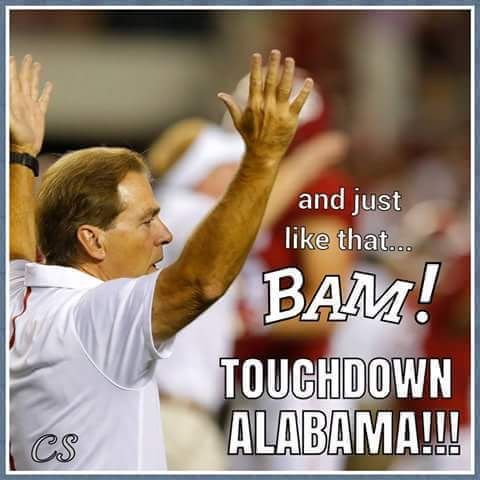 Alabama 7, Washington 7