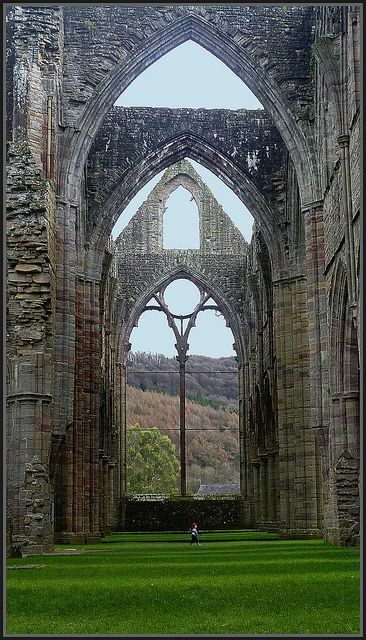 Tintern Abbey in south Wales