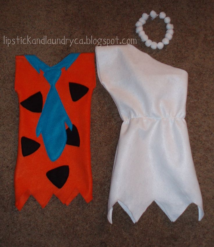 Lipstick and Laundry: Fred and Wilma Flintstone Costume