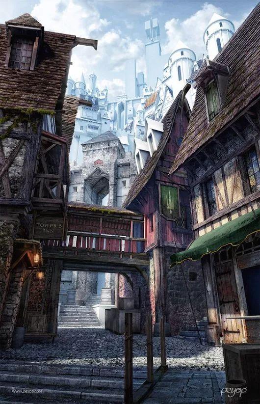 Fantasy City....