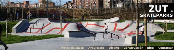ZUT SKATEPARKS | Pistas de skate