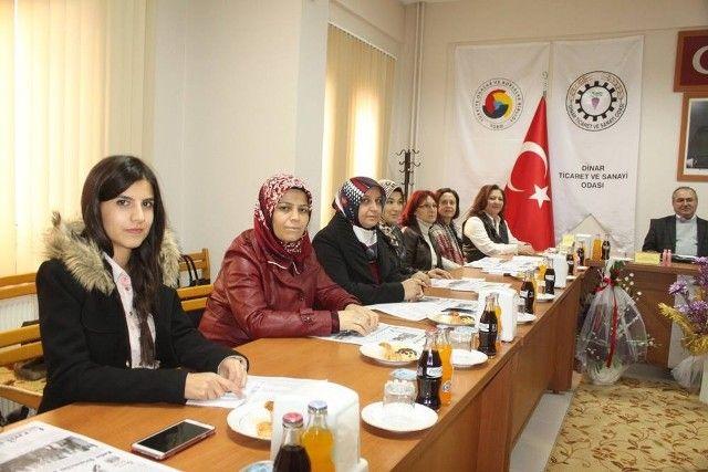 Dinarlı Kadın Girişimciler Kurulu toplandı