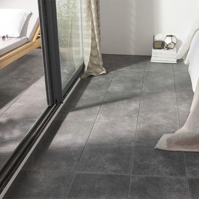 carrelage sol gris anthracite 30 x 60 cm tribeca castorama carrelage pinterest sol gris. Black Bedroom Furniture Sets. Home Design Ideas