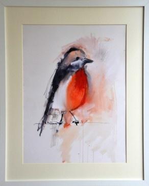 Red Robin giclee print
