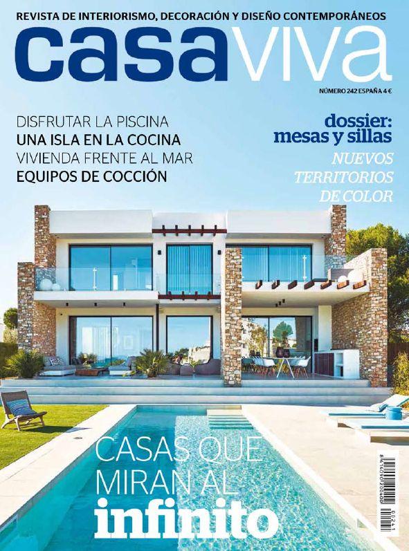 Este mes aparecemos en la revista Casa Viva con nuestro proyecto que combina tres colecciones Arclinea: Convivium, Gamma e Italia.  ¡Estamos encantados con la publicación! ¡Gracias!