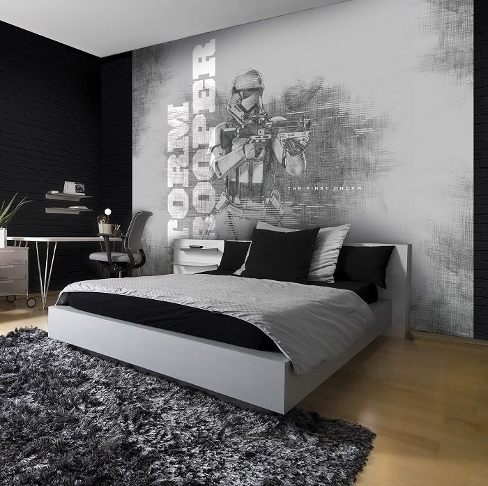 Giant Size Wallpaper Mural For Boyu0027s Room. Star Wars Paper Wallpaper Ideas.  Express And Part 57
