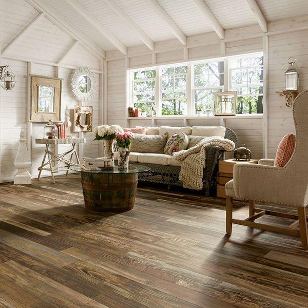 Rustic Laminate Flooring barn wood laminate flooring wood floors Armstrongfloors Architectural Remnants Woodland Reclaim Old Original Dark 12mm Laminate Flooring L3101 Bestlaminate