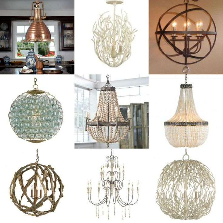 Coastal Chandeliers We Love