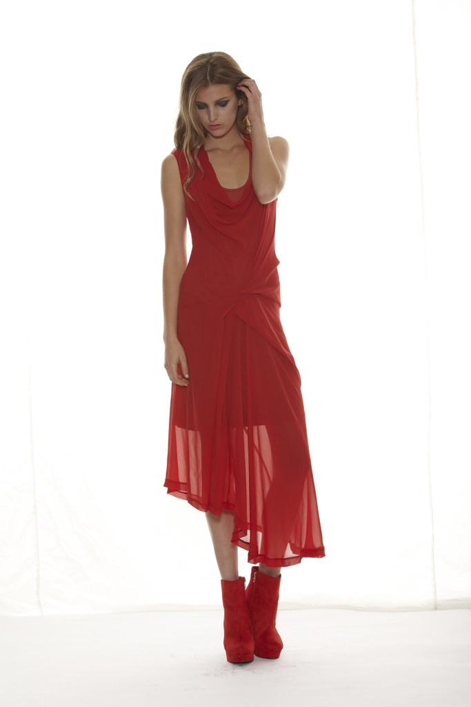 Taylor 'Shadow' Collection, Summer 12/13 www.taylorboutique.co.nz Romanalyse Dress in Poppy