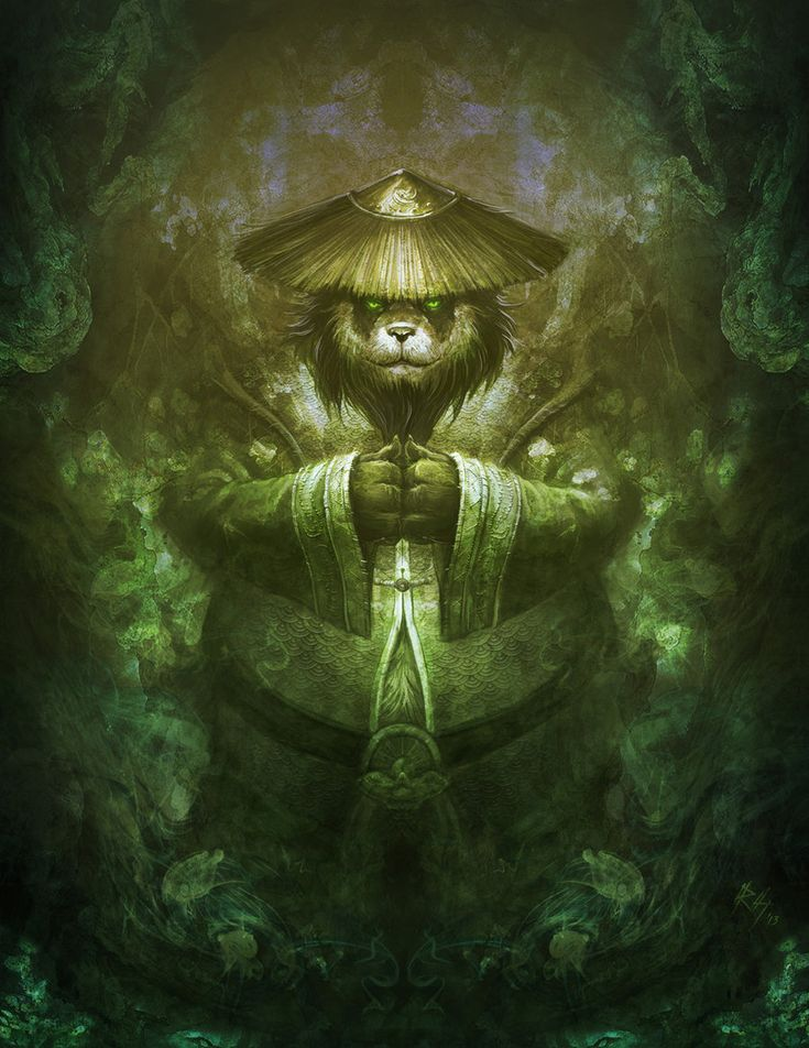 World of Warcraft Tribute : Mists of Pandaria by r-chie.deviantart.com on @deviantART