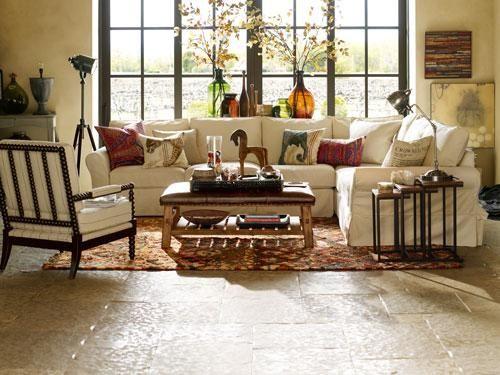 Exceptional Pottery Barn Room Decorating Ideas, Walls Benjamin Moore Decoratoru0027s White