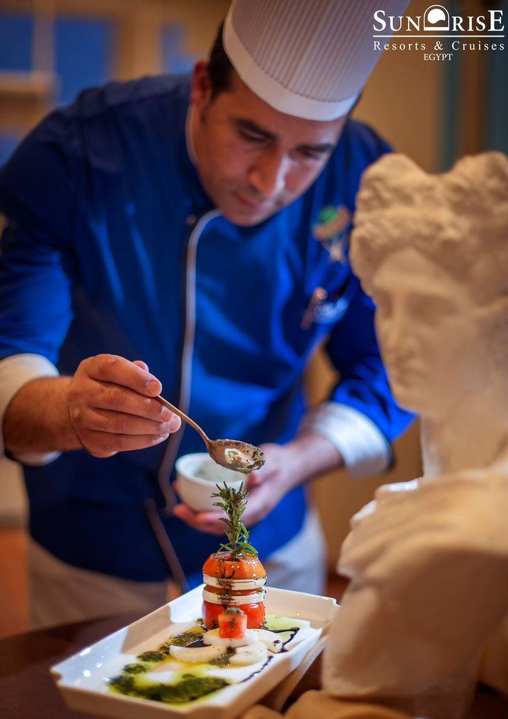 """SUNRISE Resorts & Cruises have the talented chefs.  """"For a chef, the kitchen is their canvas on which they will build their masterpiece."""""""
