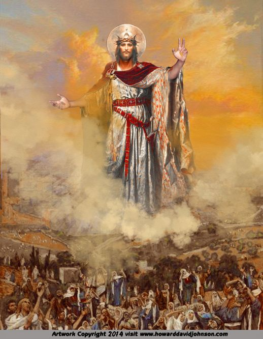Apocalyptic Art: Visions of the apocalypse; The Visionary & Mystical Paintings of American Surrealist Artist Howard David Johnson.