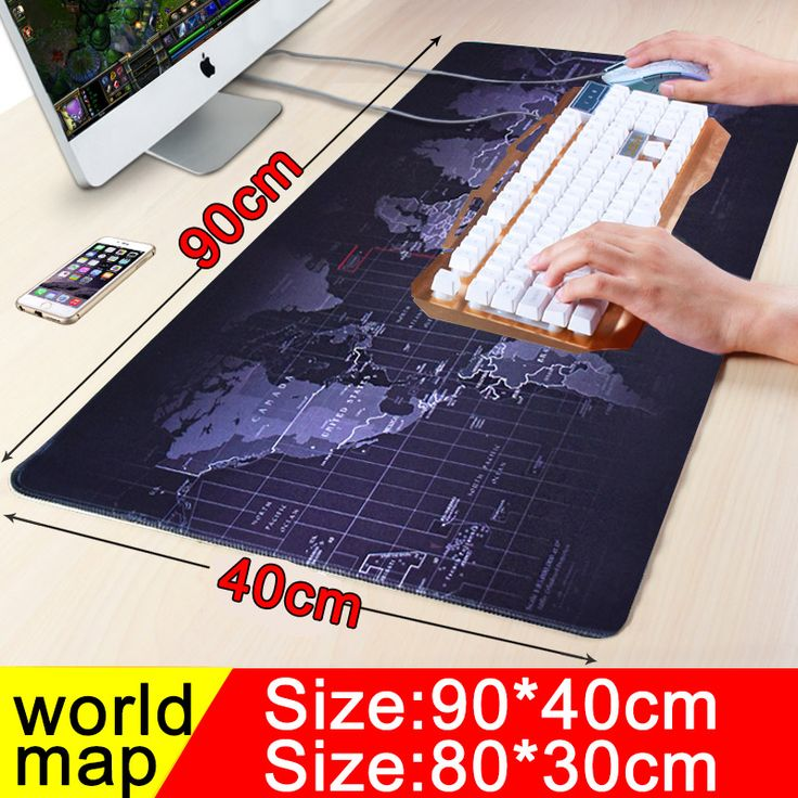900x400 large worldmap gaming mouse pad locking edge non-slip computer player Keyboard table Mat for players looks fine in design, features and function. The best accomplishment of this product is in fact simple to clean and control. The design and layout are totally astonishing that create it truly interesting and beauty...** View the item in details by clicking the VISIT button..