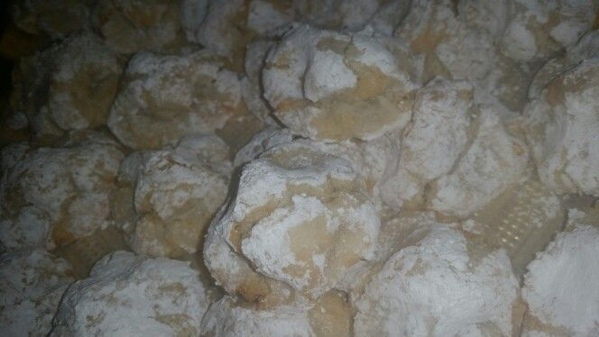 Ricciarelli pasta di mandorle