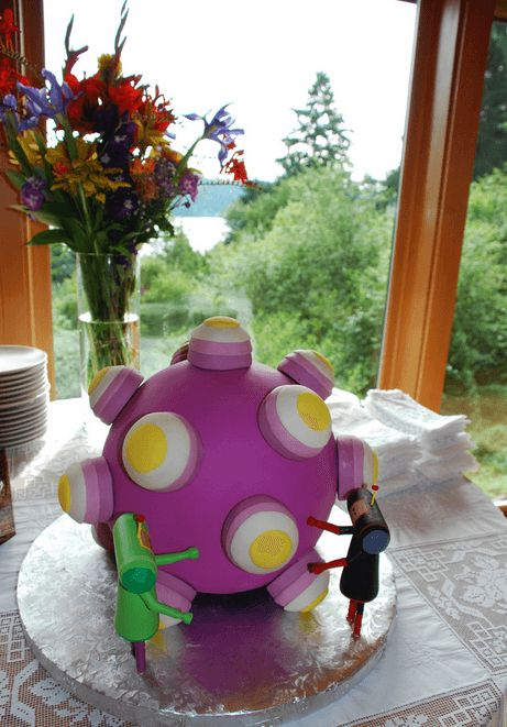 Katamari Damacy. The Nerdiest Wedding Cakes You'll Ever Want To Eat • Page 3 of 5 • BoredBug