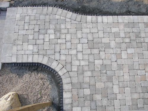 Ethan poulin landscaping patios backyard pinterest for Cape cod stone and gravel