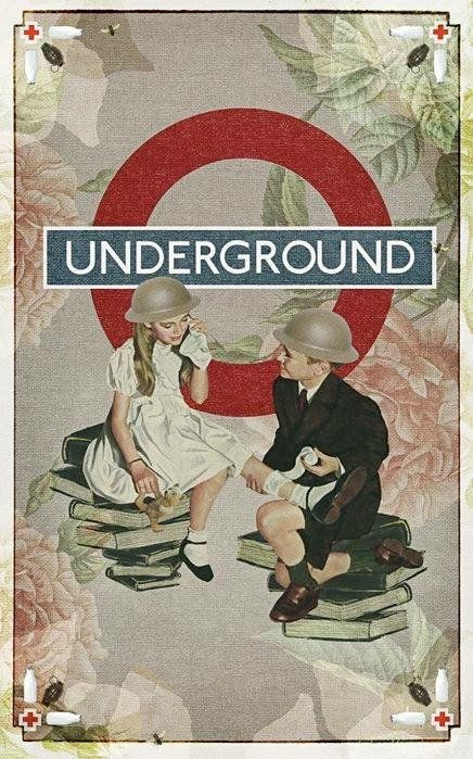 Vintage London Underground poster - posted on Twitter by @greatestcapital