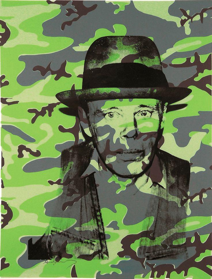 Andy Warhol. Joseph Beuys, In Memoriam, 1986 serigrafia su carta, 109 x 76,5 cm Collezione privata, Como - See more at: http://www.tripartadvisor.it/andy-warhol-pan-napoli/