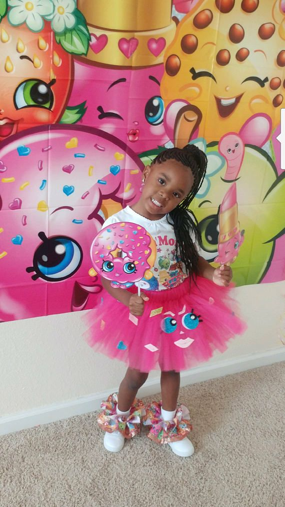 Pick Your Pink Shopkins Inspired Tutu Skirt TUTU SKIRT ONLY
