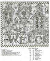 """haft / domki dla ptaków -  welcome 2/3 // Gallery.ru / patrizia61 - Альбом """"welcome"""""""