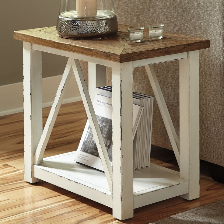 Signature Design by Ashley Marshone Rectangle End Table & Reviews | Wayfair