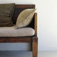 Sofas come in a variety of shapes and sizes but all good quality sofas are expensive. You can design and build your own DIY hardwood sofa frame to fit your exact needs for less than the cost of a store bought quality sofa using basic DIY tools and materials. This will then allow you to make a sofa that fits the exact space and upholstery...